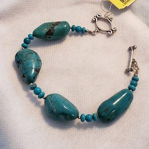 NWT Barse Turquoise Beaded Bracelet